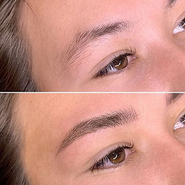 Microblading sourcils bordeaux