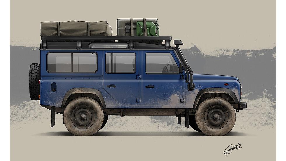 LAND ROVER - Defender TD5 110 (Camper)