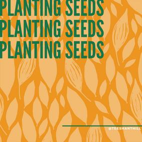 #PlantingSeedsSeries