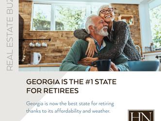 Best State To Retire In: Georgia!