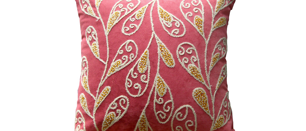 Rose Leaf Pillow Covers