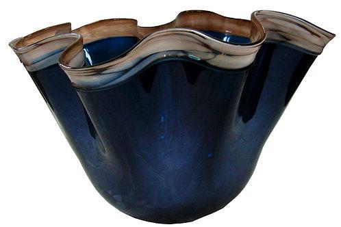 Centro Decorativo para mesa color Azul
