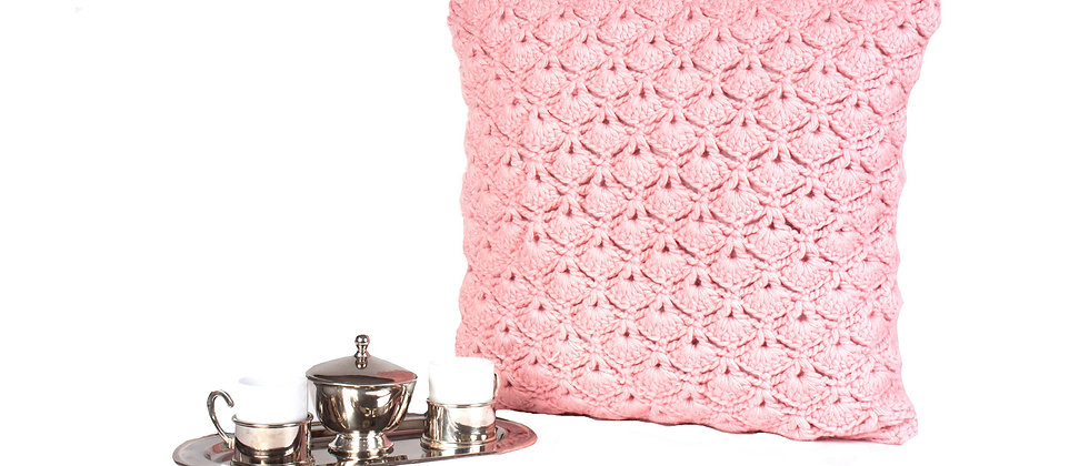 Crochet Knitted Pillow Cover