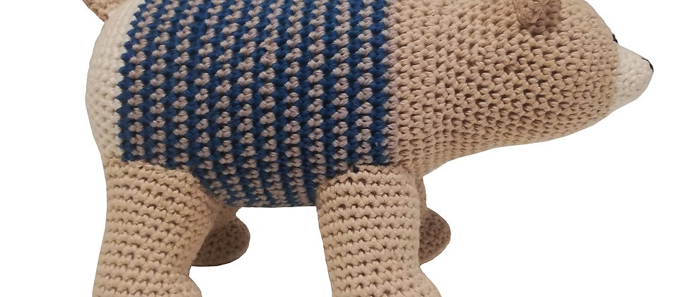 Amigurumi bear peruvian cotton
