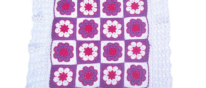 handmade crochet baby pillow