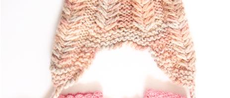 Alpaca Knitted Hat & Mittens