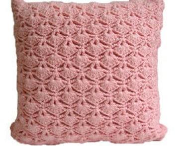 Almohada hecha a mano con Crochet
