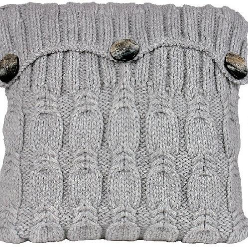 Almohada de Alpaca tejida a mano