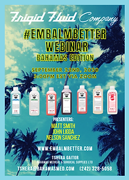 #EMBALMBETTER Webinar Bahamas Edition
