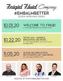 #EMBALMBETTER Webinar Severe Decomposition, Restorative Art and More