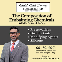 The Composition of  Embalming Chemicals