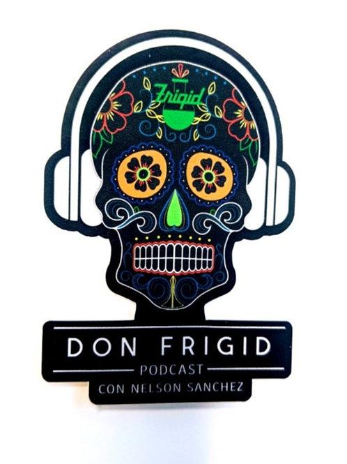 Don Frigid Sticker