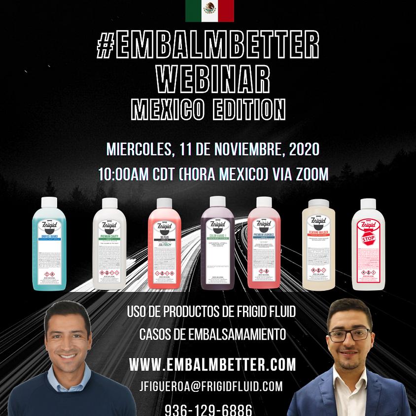 #EMBALMBETTER Webinar Mexico Edition