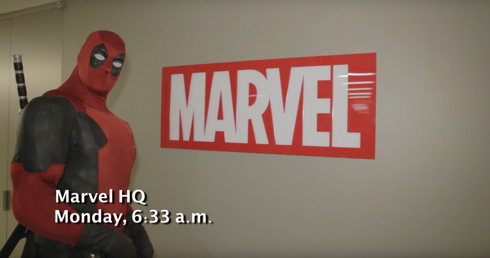WELCOME TO MARVEL HQ