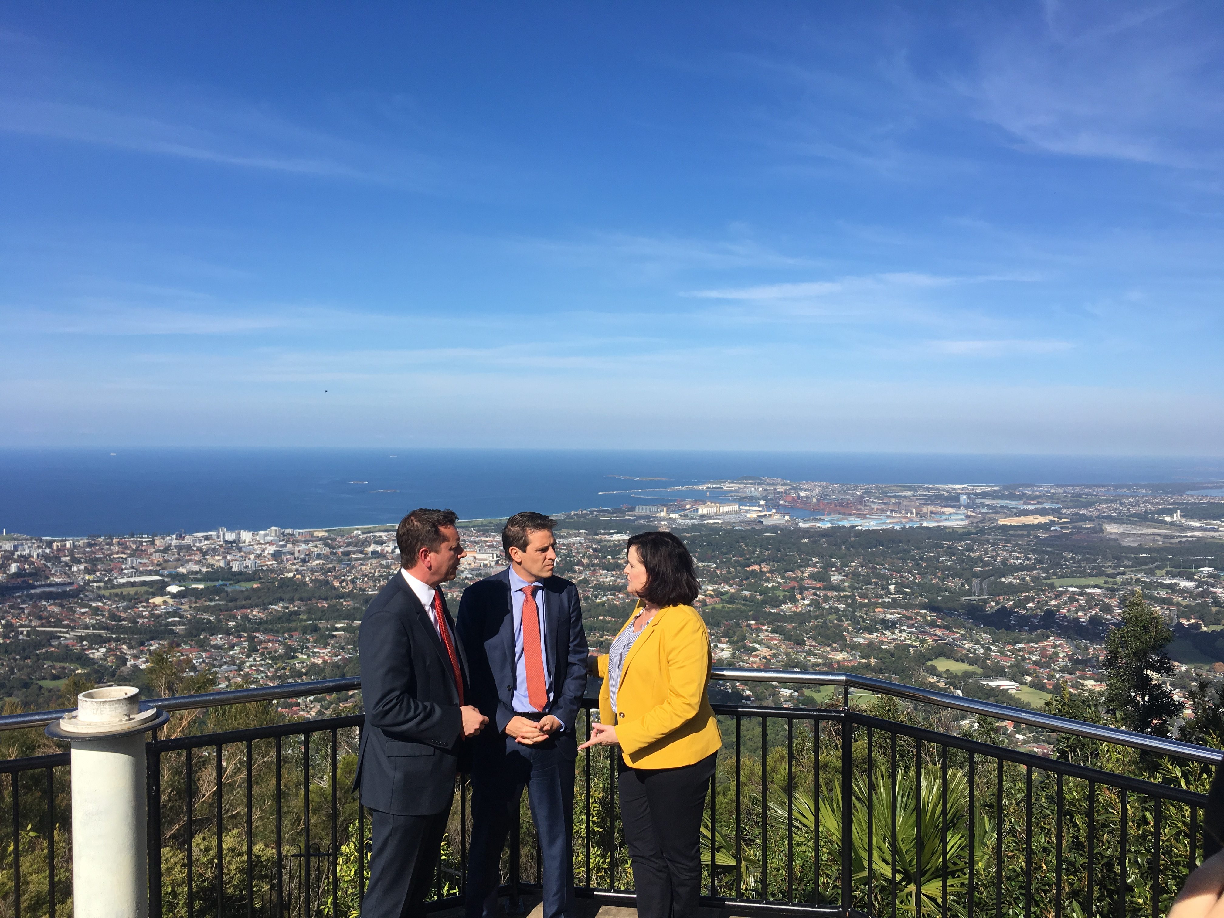 With Paul and Ryan - Snowy Hydro Media Mount Keira