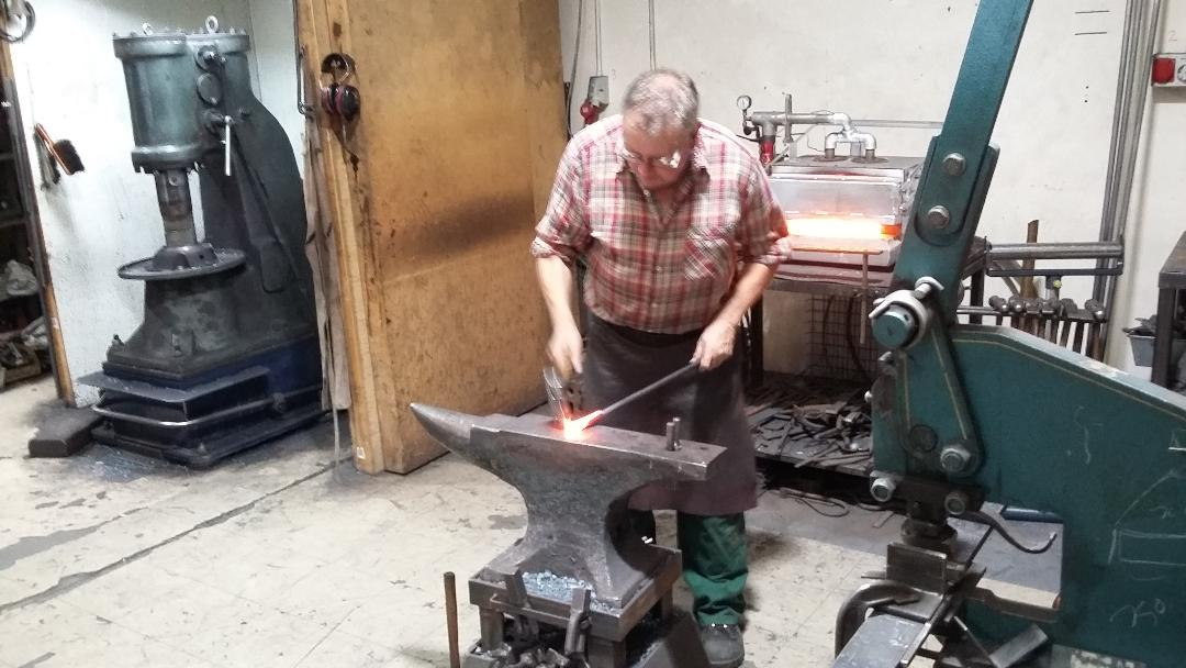 Nigel Tyas blacksmith