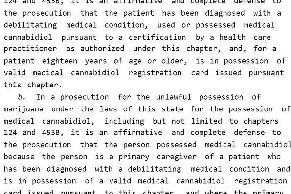 Medical Marijuana Defense Excerpt