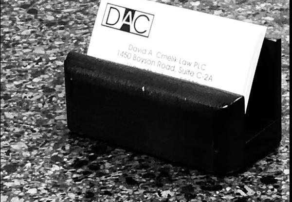 Business Cards at David A. Cmelik Law PLC