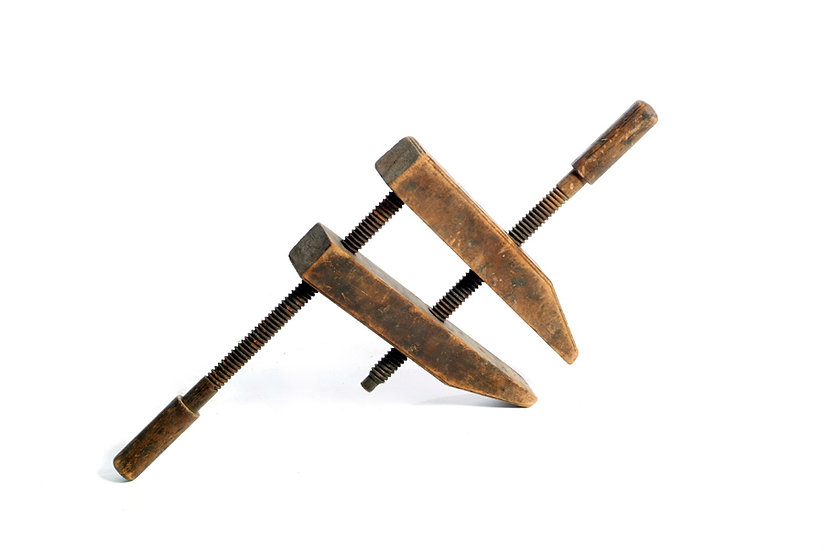 Wooden Clamp קליבה מעץ