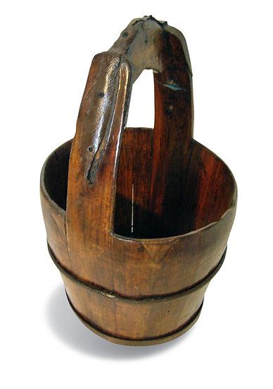 Wooden Bucket דלי עץ