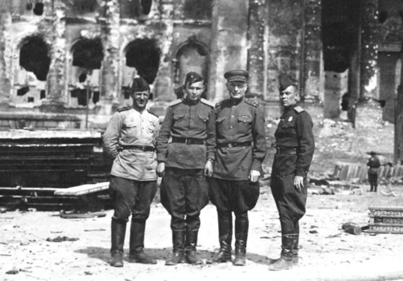 Берлин. 1945