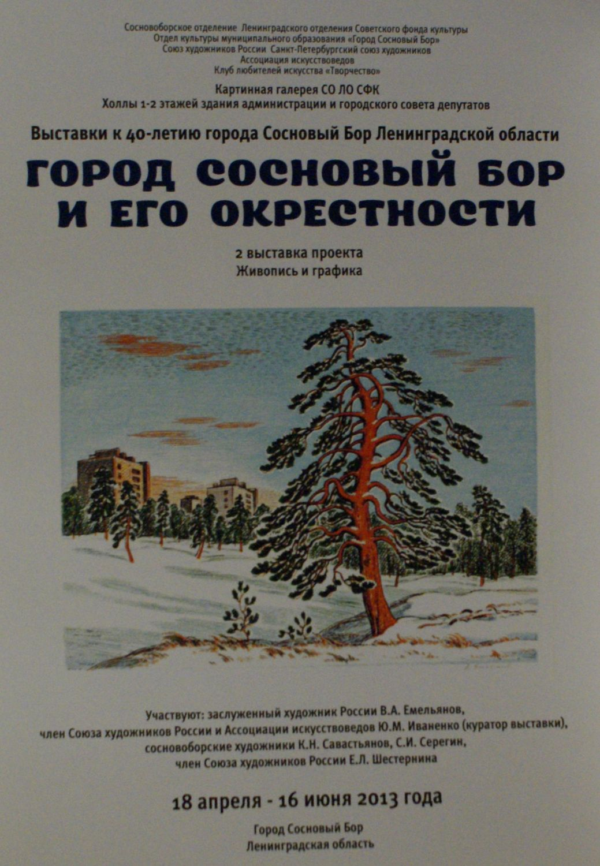 Сосновый Бор и его окрестности 2013
