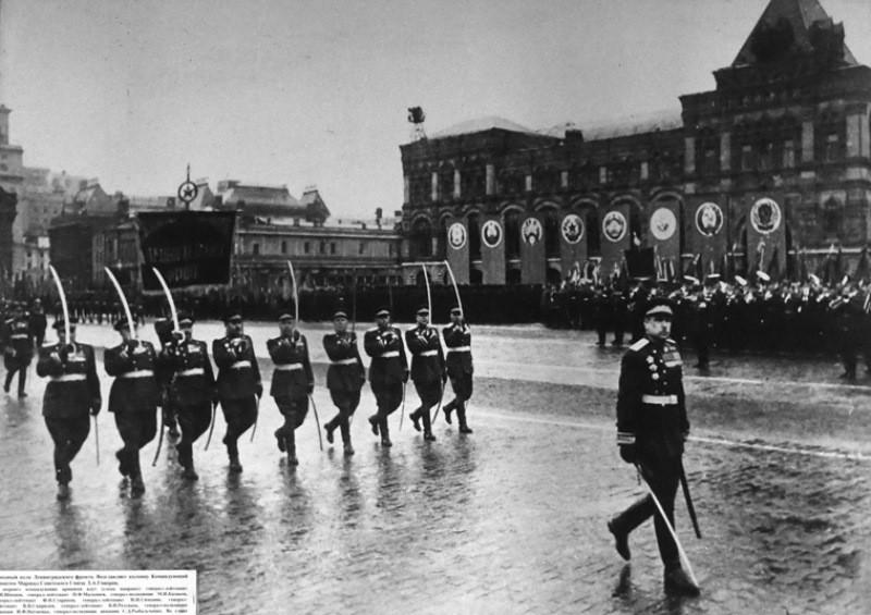 Парад Победы Маршал Говоров