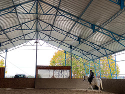 Indoor Horse riding arena