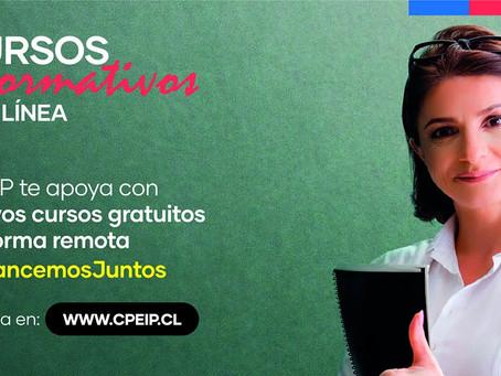 Mineduc abre postulaciones a cursos formativos online, gratuitos para docentes.