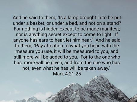 The Resurrection and the Lamp