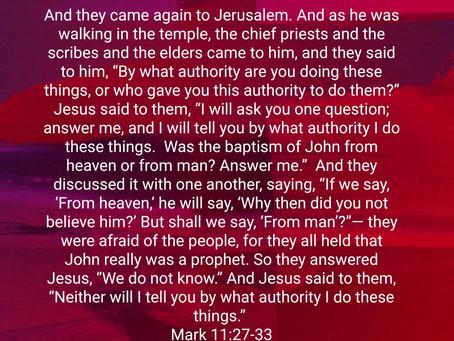 Heavenly authority