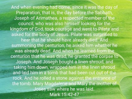 The Burial of Jesus