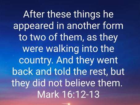 Trusting in the Resurrected Lord and Becoming Victorious