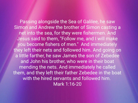 The Calling of the Four Fishermen