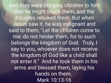 Like Little Children Entering the Kingdom of Heaven