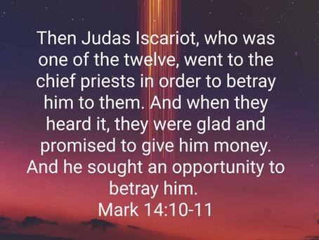 Judas Betrays the Lord