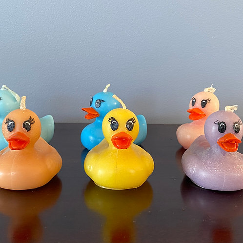 Mother Duck Candle