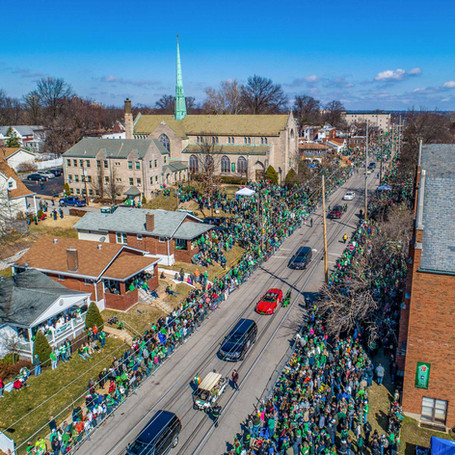 St Patrick's Day Parade (Press to Learn More)