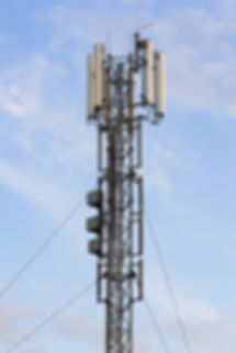 cellular-base-station-with-panel-antenna