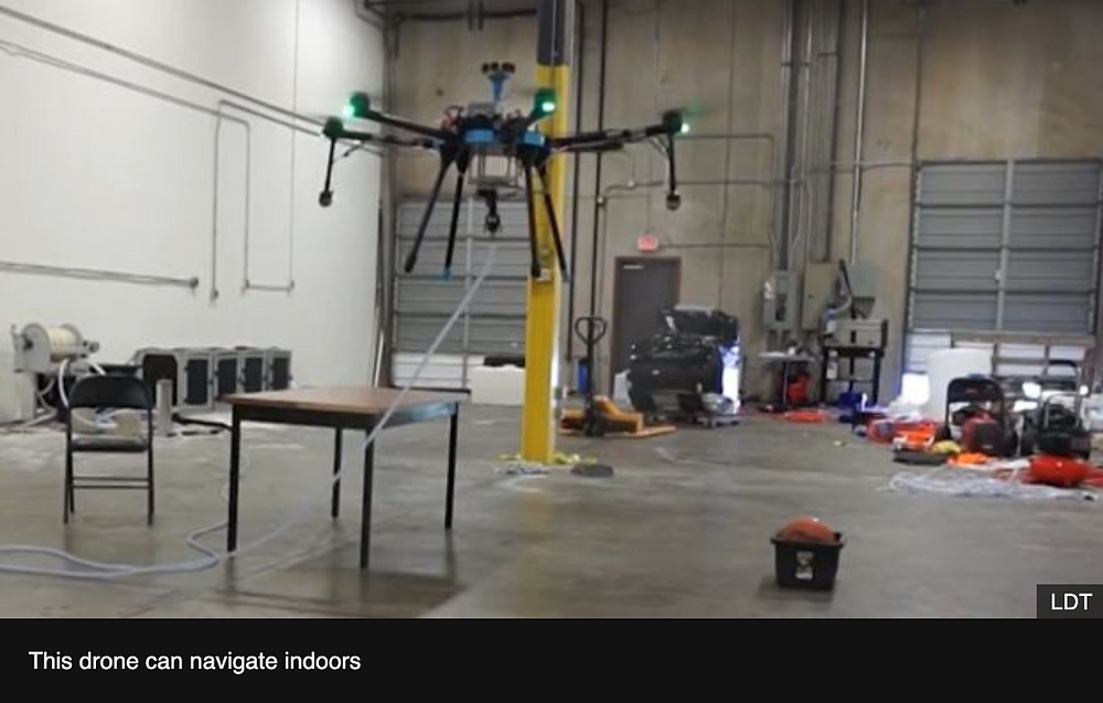 Cleaning and Disinfecting Drone System