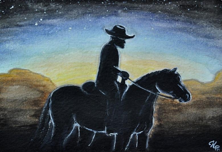 Cowboy Sunset 2014