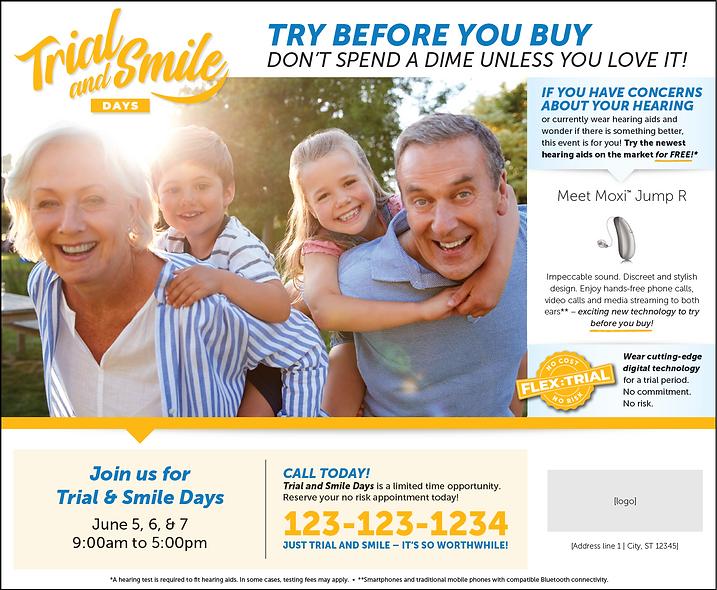Trial & Smile Ad Set