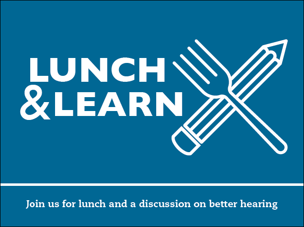 Lunch & Learn Invite