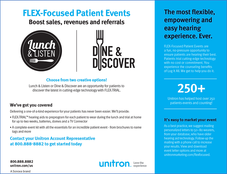 FLEX-Focused Patient Events Overview