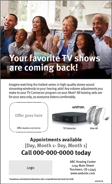TV Connector Newspaper Ad
