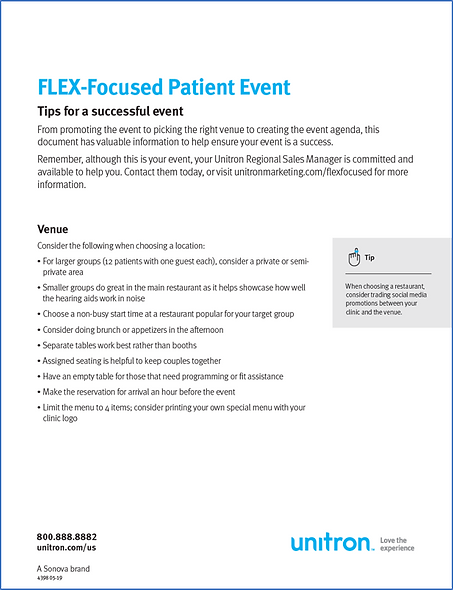 Patient Event Tips