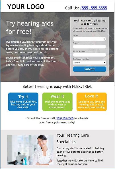 FLEX:TRIAL Paid Search