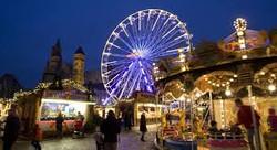 Marché de Noël et grande roue