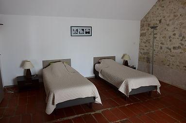 Grande chambre 2 lits simple