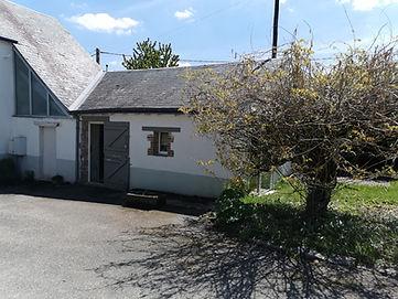 façade et jardin